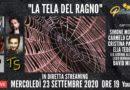 Mercoledì 23 settembre alle 19.00 ospiti a Poltronissima in diretta streaming: Simone Moretto, Carmelo Cancemi, Cristina Palermo, Elia Tedesco e David Miceli