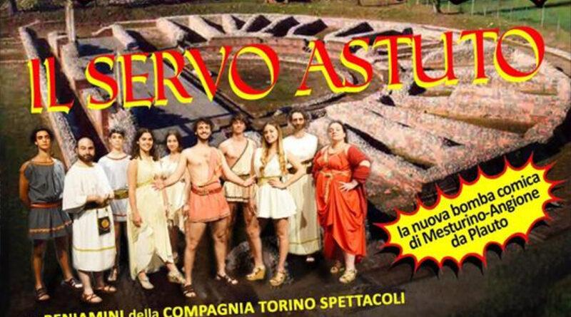 Venerdì 30 ottobre alle 21, in streaming on line, la nuova bomba comica della Compagnia Torino Spettacoli: IL SERVO ASTUTO (EPIDICUS)