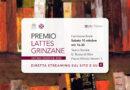 Cerimonia finale del Premio Lattes Grinzane – X edizione, sabato 10 ottobre 2020, al Teatro Sociale di Alba, con diretta streaming sul sito e sulla pagina Facebook della Fondazione Bottari Lattes