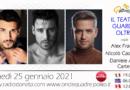 Lunedì 25 gennaio 2021 alle ore 19.00 ospiti in diretta a Poltronissima in radiovisione: Alex Fragile, Nicolò Castagna e Daniele Alan – Carter