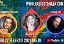 Lunedì 22 febbraio 2021 alle ore 19.00 ospiti in diretta a Poltronissima in radiovisione: Sara Santostasi, Luca Giacomelli Ferrarini e Cristian Ruiz