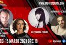 Lunedì 15 marzo 2021 alle ore 19.00 ospiti in diretta a Poltronissima in radiovisione: Giorgio Camandona e Martina Ciabatti Mennell, Alessandra Ferrari e Gian Marco Schiaretti