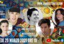 Lunedì 29 marzo 2021 alle ore 19.00 ospiti in diretta a Poltronissima in radiovisione: Anna Dora Dorno e Nicola Pianzola, i fratelli Mc Brotherss e Greta