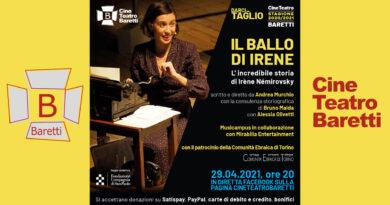 IL BALLO DI IRENE – L' incredibile storia di Irène Némirovsky giovedì 29 aprile 2021 ore 20