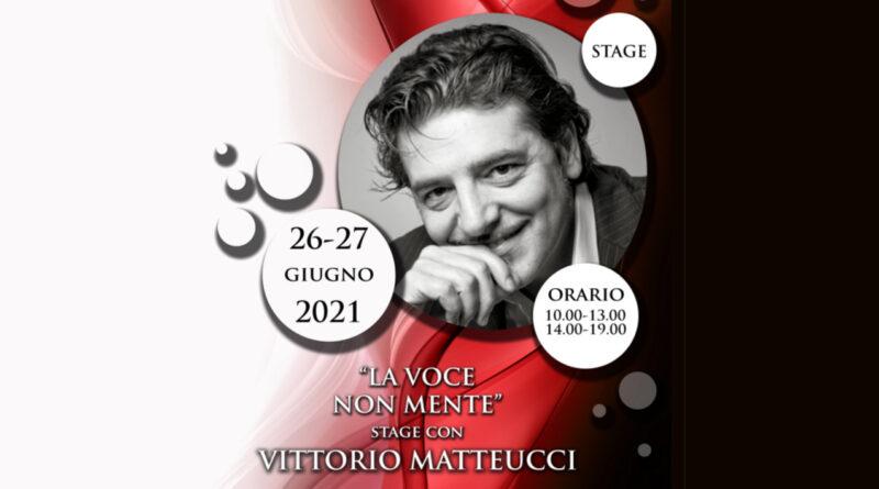 """Vittorio Matteucci torna con """"La voce non mente"""" e cerca la sua Amelia"""