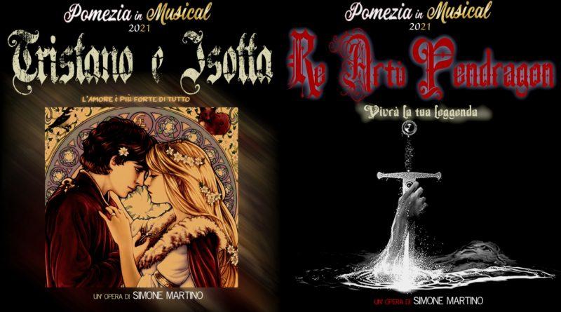 """Estate a Pomezia 2021 in musical: """"Tristano e Isotta"""" il 17 luglio e """"Re Artù Pendragon"""" il 31 luglio"""